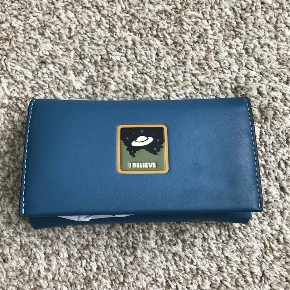 Coach NASA Limited Edition Glovetanned UFO Wallet